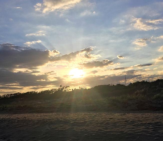 bay sunset 1